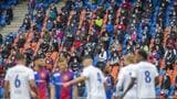 Auch der FC Basel darf nur noch vor 1000 Zuschauern spielen
