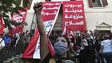 Libanesinnen und Libanesen tragen ihre Wut auf die Strasse (Artikel enthält Video)