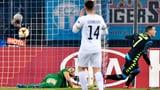 Brechers Patzer bringt Zürich gegen Napoli arg in Rücklage (Artikel enthält Video)