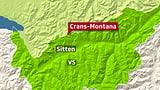 Lawine reisst mehrere Personen in Crans-Montana mit