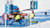 Russisches Biathlon-Duo in Quarantäne