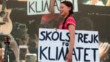 Greta Thunberg spricht, Zehntausende kommen (Artikel enthält Video)
