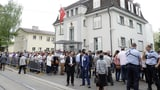 Türkisches Konsulat in Zürich plant meterhohen Zaun ums Haus (Artikel enthält Audio)