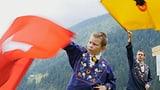 Video «Serie «Urchige Schweizer Sportarten» – Fahnenschwingen» abspielen
