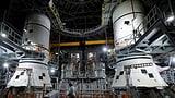 Nasa gibt SpaceX den Zuschuss für bemannte Mond-Mission (Artikel enthält Audio)
