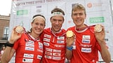 Hubmann verteidigt seinen Weltmeistertitel im Sprint (Artikel enthält Video)