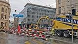 Bankenplatz in Basel im Herbst wieder eine Grossbaustelle (Artikel enthält Audio)