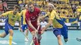 Unihockey-Nati scheitert knapp an Schweden (Artikel enthält Video)