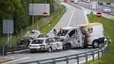 Geldtransporter auf A1 in der Waadt überfallen (Artikel enthält Video)