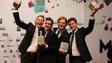 Hecht gewinnen den Swiss Music Award als «SRF 3 Best Talent 2013