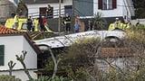 Touristenbus auf Madeira verunfallt (Artikel enthält Video)