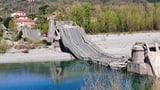 Brücke in Italien eingestürzt (Artikel enthält Bildergalerie)