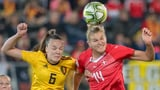 Schweizerinnen treffen erneut auf Belgien