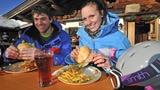 Video «Wintersport – Kalorienverbrauch beim Skifahren» abspielen