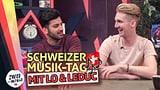 «Zwei am Morge» feiern den Tag der Schweizer Musik mit Lo & Leduc