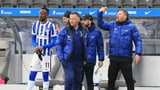 Hertha Berlin muss in Quarantäne (Artikel enthält Audio)