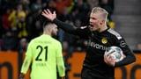 Dreifacher Haaland sichert Dortmund den Sieg