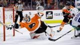 Rookie-Goalie Hart hält Philadelphia im Höhenflug (Artikel enthält Video)