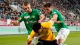 Dramatisches Unentschieden zwischen St. Gallen und YB (Artikel enthält Video)
