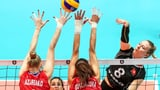 Schweizer Volleyballerin können Russland nur zu Beginn fordern (Artikel enthält Video)