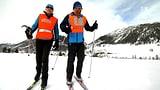 Video «Mit fremden Augen auf der Loipe – Wintersport der besonderen Art» abspielen