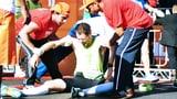 Video «Überbelastung Marathon, Lachyoga, umstrittene Gesundheitswerbung» abspielen