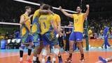 Nach kurzem Zittern: Brasilien holt Volleyball-Gold (Artikel enthält Video)