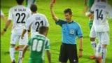 Video «Die gelben und roten Karten im Fussball – «Tscheggsch de Pögg»» abspielen