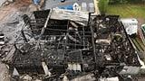 Bootshalle in Lachen wurde durch ein Feuer vollständig zerstört (Artikel enthält Audio)