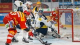Wichtige Siege für Biel und Lugano im Playoff-Kampf