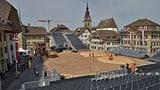 Ein Schwingfest mitten in Zofingens historischer Altstadt (Artikel enthält Audio)