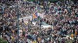 Blockierte Strassen und Auseinandersetzungen mit der Polizei (Artikel enthält Video)