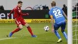 Die Bayern eröffnen die Bundesliga-Rückrunde erfolgreich