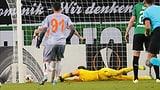 Gladbach scheidet nach Sommer-Patzer aus – Frankfurt ist weiter