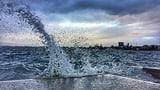 «Veiko» sorgt für windiges Chaos (Artikel enthält Video)