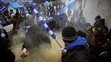 Ausschreitungen bei Mazedonien-Protest (Artikel enthält Video)