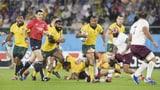 Australien wahrt Chance auf Gruppensieg