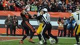 Browns' Garrett attackiert Rudolph mit dessen Helm (Artikel enthält Video)