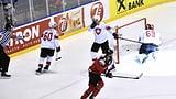 Die 0,4 Sekunden, die jeden Schweizer Eishockey-Fan schmerzen (Artikel enthält Video)