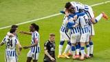 Hertha sammelt 3 wichtige Punkte gegen den Abstieg (Artikel enthält Audio)