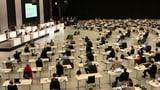 Berner Kantonsparlament tagt in der Festhalle, statt im Rathaus (Artikel enthält Audio)