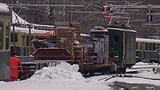 Ein Chalet nimmt den Zug (Artikel enthält Video)