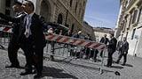 Rom: Schüsse am Tag der Vereidigung (Artikel enthält Audio)