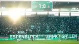 FC St. Gallen mit kleinem Gewinn (Artikel enthält Video)