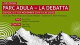 Livestream:  Discussiun da podium Parc Adula a Mustér