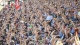Über 400'000 Fans machten das Schwing- zu einem Volksfest (Artikel enthält Audio)