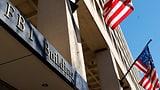 Geld für Ermittlungen des FBI wird knapp (Artikel enthält Audio)