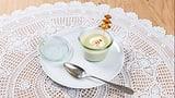Selleriecrèmesuppe mit Kräutertannli