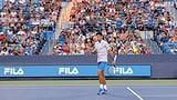 Djokovic alleine auf weiter Flur (Artikel enthält Video)
