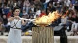 Die olympische Flamme brennt für Lausanne 2020